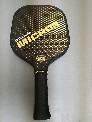 Excellent Condition Gamma Micron Pickleball Paddle