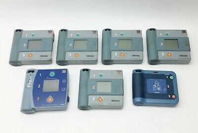 Lot 7 Hp/Phillips/Agilent Aed Heartstart 5*Fr 1*Frx 1*Fr2 Defibrillator Parts