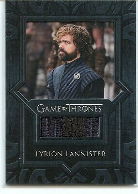 Tyrion Lannister Game of Thrones Rittenhouse InfleXions Shirt Swatch Dinklage