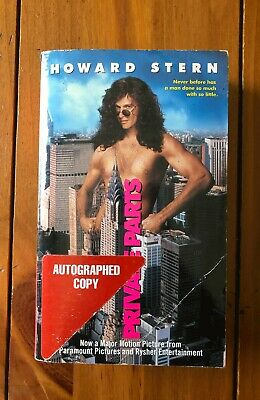 Private Parts by Howard Stern *Autographed copy* Paperback Book !