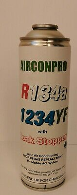 CAR Aircon Refill Regas Air Conditioning Top up WITH Leak Stopper Mixture 500gr