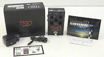 DigiTech Trio Band Creator Guitar Effects Pedal w/Original Box - FULLY TESTED