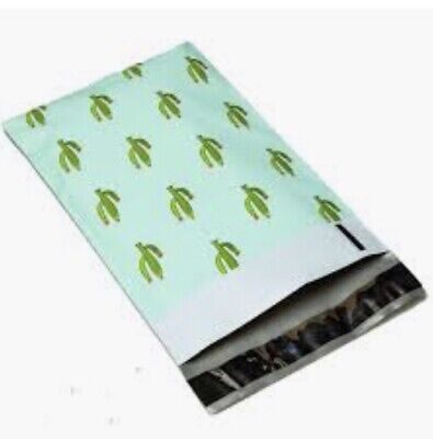 """20 count Designer Poly Mailers Cactus 10x13"""" Plastic Mailing Shipping Envelopes"""