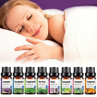 100% Natural Pure Essential Oil Fragrances Aroma 10ml Aromatherapy Essential Oil