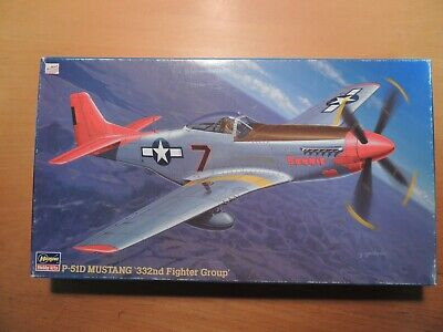 Hasegawa 1/48 P-51D MUSTANG `332nd Fighter Group' (JT147)