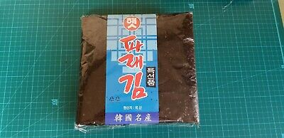 100 Sheets Korean Roasted Dried Laver Parae Seaweed Yaki Sushi Nori gimbab Japan