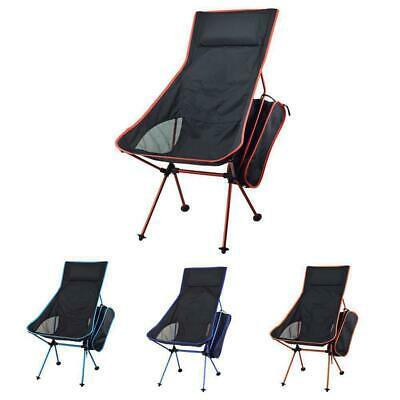 Mountain Warehouse Folding Portable Chair with Bag in Navy Oxford Picnic Beach