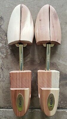 Men's Cedar Wood Shoe Trees Medium Dillard's Shoe Forms Keepers  12.5""
