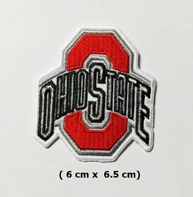 Ohio State Buckeyes  Sport Logo   Embroidery Patch Iron and sewing on Clothes
