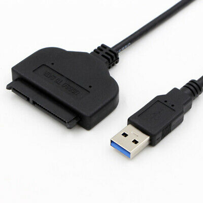USB 3.0 To SATA 22Pin 2.5Inch Hard Disk Driver SSD Adapter Data Power Cable