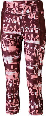 Puma Kinder Tights Runtrain AOP 3/4 Leggings G Rose