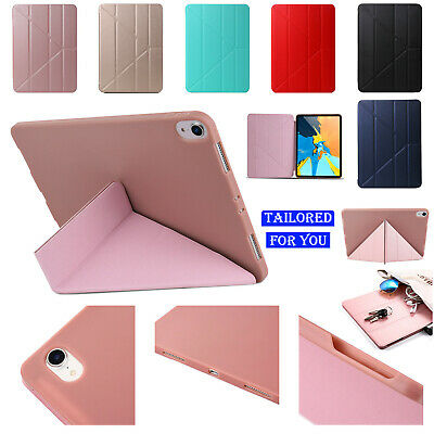 For iPad Air3 2019 10.5 Magnetic AUTO SLEEP Multi-angle Fold Soft Silicone Case