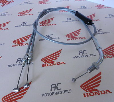 Honda CB CL 250 K Gaszug Silber Grau 1 in 2 Verteilerzug Cable Wire Throttle