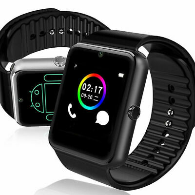 Bluetooth Smart Wrist Camera Fitness Watch Activity Tracker For Android GSM SIM