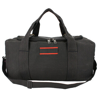 Men Large Military Canvas Gym Duffle Shoulder Bag Outdoor Travel Luggage
