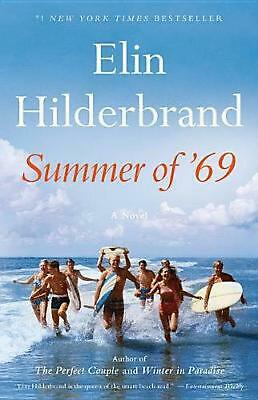 Summer of '69 by Elin Hilderbrand (English) Hardcover Book Free Shipping!