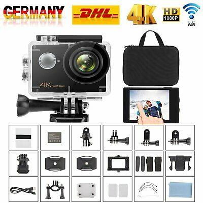 4K FHD WiFi Sport Aktion Kamera Cam DV Digital Camcorder 30fps 16MP wasserdicht