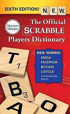 The Official Scrabble Players Dictionary by Merriam-Webster (English) Mass Marke