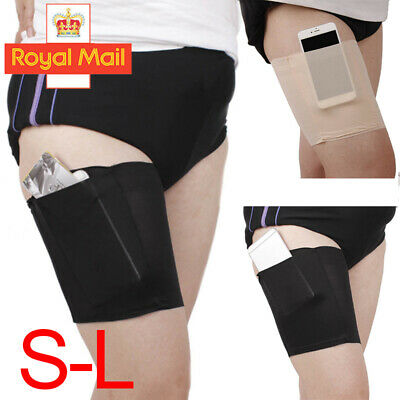 Anti Chafing Thigh Bands Pair Elastic Non Slip Leg Comfort Running Sports