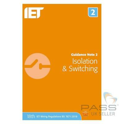 IET Guidance Note 2: Inspection & Switching 8th Edition / Updated 18th Edition