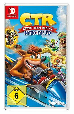 Crash Team Racing Nitro-Fueled               Switch        !!!!! NEU+OVP !!!!!
