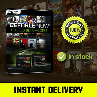 NVIDIA GEFORCE NOW Cd Key 🔑 - 🔥 Instant Delivery 🔥