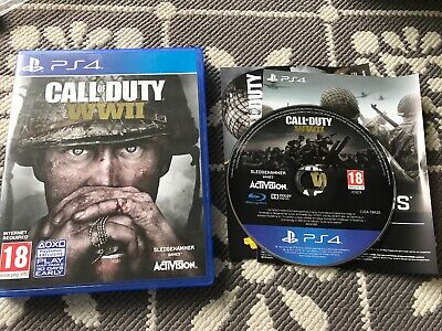 PlayStation 4 Call Of Duty World War II 2 WWII PS4