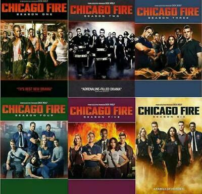 CHICAGO FIRE: The Complete Series Season 1-6 DVD Set 1 2 3 4 5 6 NEW