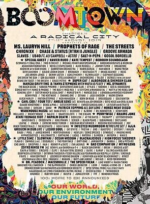 Boomtown 2019 Ticket Thursday Entry, 8th August - 11th August