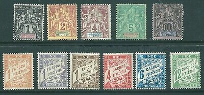 INDIA SETTLEMENTS mint stamp collection 1892 onwards