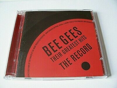 THE BEE GEES - Their Greatest Hits - The Record - 2 CD Album