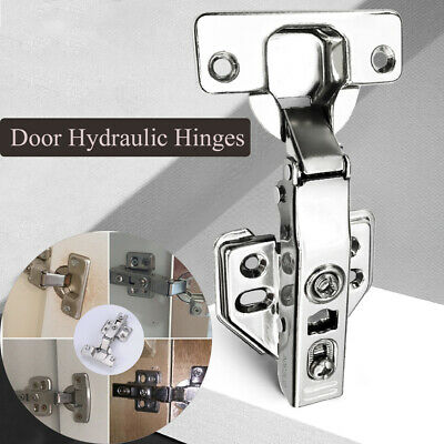 Buffer Furniture Hardware Soft Close  Door Hydraulic Hinges Cupboard Hinges
