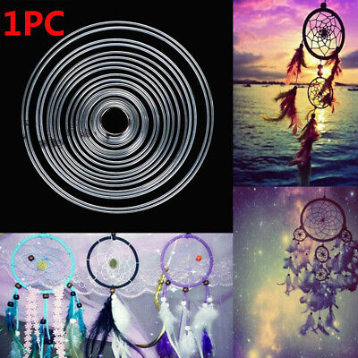 Metallic Good Welded Round Dreamcatcher Hoop Dream Catcher Ring DIY Craft