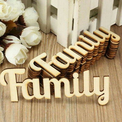 Alphabet Wedding Tree Crafts DIY Wooden Letters Family Word Decorations
