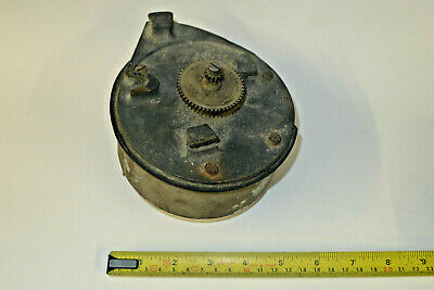 Vintage INDUSTRIAL mechanical D&W Swiss Platform escapement clock timer movement
