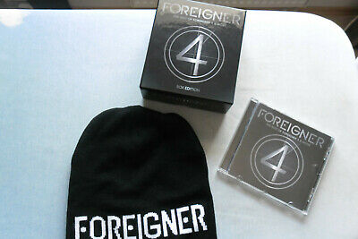 Foreigner - The Best Of Foreigner 4 & More - (Limited Box Edition) Cd + Beanie