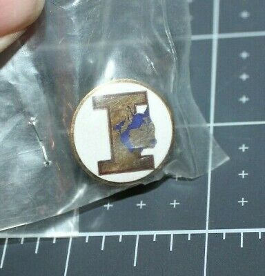 "Iditarod Sled Dog Race Alaska Tie Tac Lapel Pin ""I"" & Husky Last Great Race"