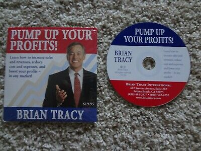 Brian Tracy CD Audiobook Pump Up Your Profits Increase sales and revenues
