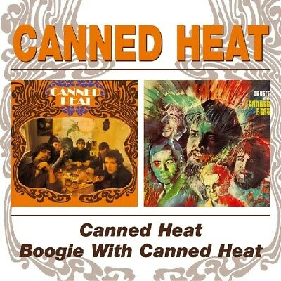Canned Heat/Boogie With - CD BeatGoesOn NEW