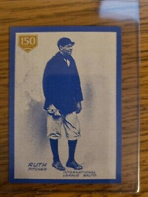 2019 Topps Series 1 - BABE RUTH - ICONIC CARD REPRINTS 150 Years ICR-3 #098/150