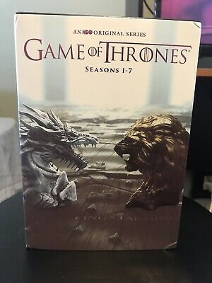Game of Thrones: The Complete Seasons 1-7 DVD Box Set Season 1 2 3 4 5 6 7