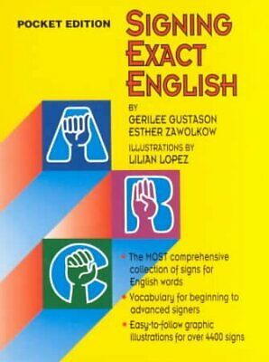Signing Exact English, Paperback by Zawolkow, Ester, Acceptable Condition, Fr...