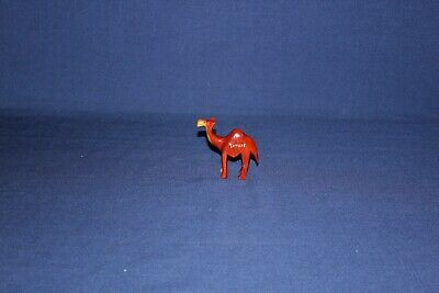 """Vintage hand carved wooden  CAMEL Tanger 3.25"""" tall 3.75"""" wide pre-owned"""