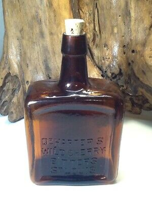 Antique Dr. Harters Wild Cherry Bitters Bottle.