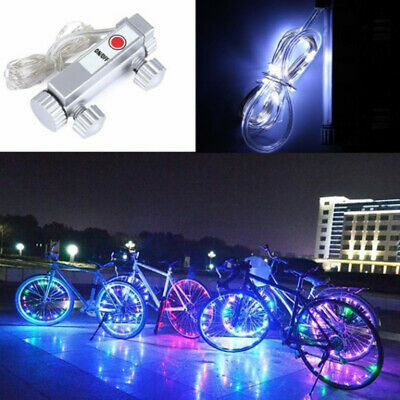 Outdoor Bicycle String Lamp Wheel Spoke light Bike Cycling Bike Rim Lights