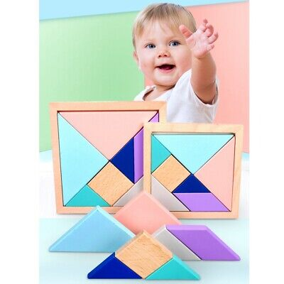 Baby Kids Early learnning Education Wooden Puzzle Intelligence Toys