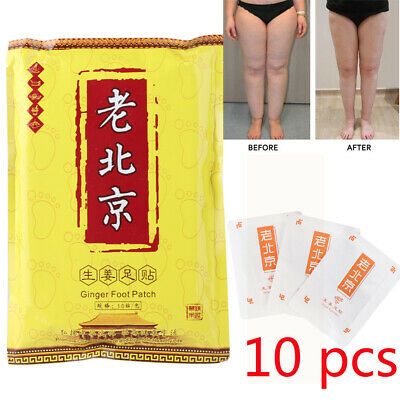 Anti-Swelling Fat Burning Foot Patches Foot Care Ginger Extracts Improve Sleep