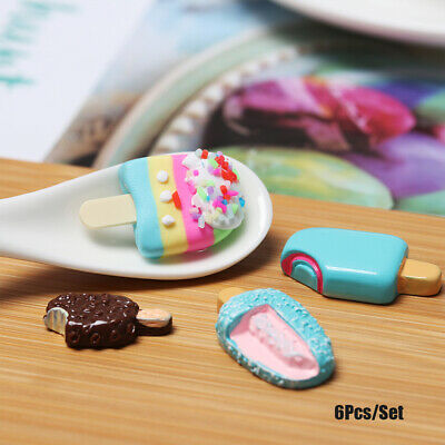 Ice-lolly Polymer Clay Popsicle Mini Simulation Food Miniature Ice Cream