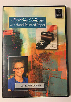 Scribble Collage with Hand-Painted Paper with Jane Davies - Art Instruction DVD