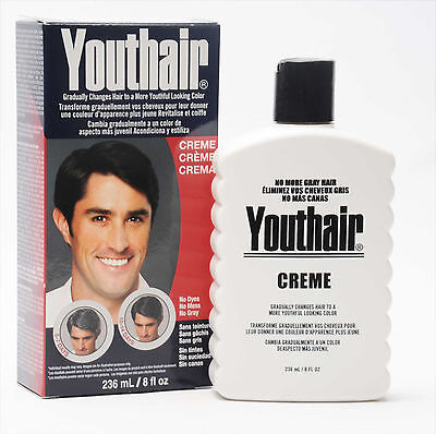 Youthair Creme No Dyes No Mess No Gray Gradually Changes Hair To Youthful Look
